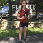 1st, Elizabeth Mathieson - Womens 75 mile winner